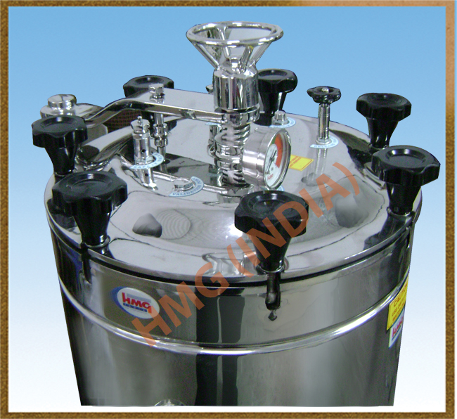 Laboratory Autoclave - Vertical Manufacturers, Exporters and Suppliers